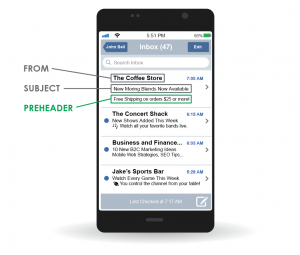 Increase Email Marketing Open Rates Using Preheader Text