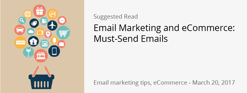 eCommerce and Email Marketing Emails