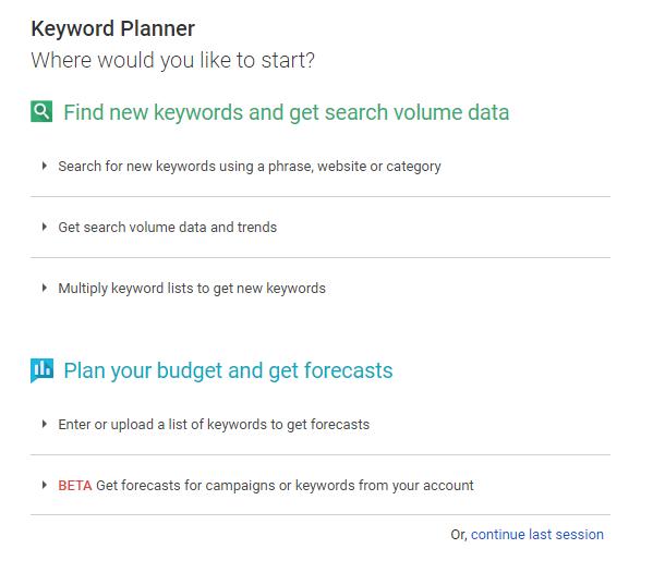 keyword tools seo ppc